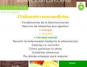 Flyer 12 agosto Alimentación Consciente México Facebook